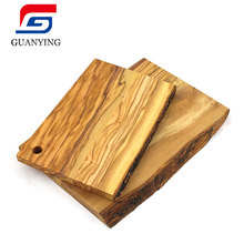 <span class=keywords><strong>Acacia</strong></span> Cutting Board Mini Cutting Board Natural Olive Wood Reversible Talenan untuk Makanan