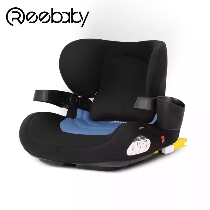 LETTAS Child Car Seat Group 3 Big Kids Lumbar Pillows Booster with ISOFIX 22-36KG//6-12 Years ECE R44//04