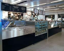 맥도날드 아크릴 바 카운터 바 카운터 설계 디자인 상업 카페 바 ...