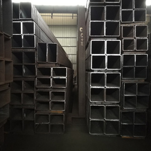 Chinese Supplier rectangular black square tube/pipe