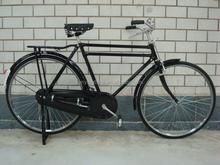 Vintage aluminum bicycle
