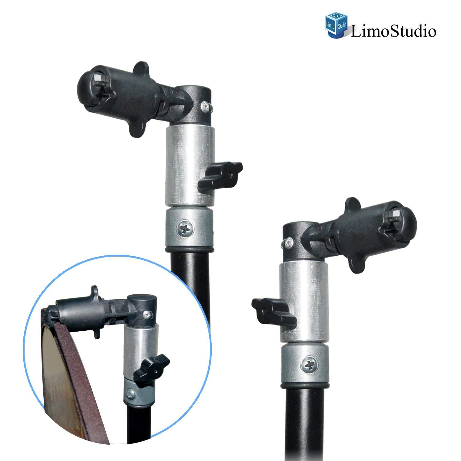 Limostudio Photo Video Photography Studio Reflector Disc Holder Clip for Light Stand AGG1411
