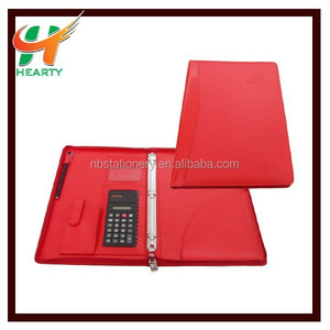 Zipper Binder A4 PU Folder Portfolio