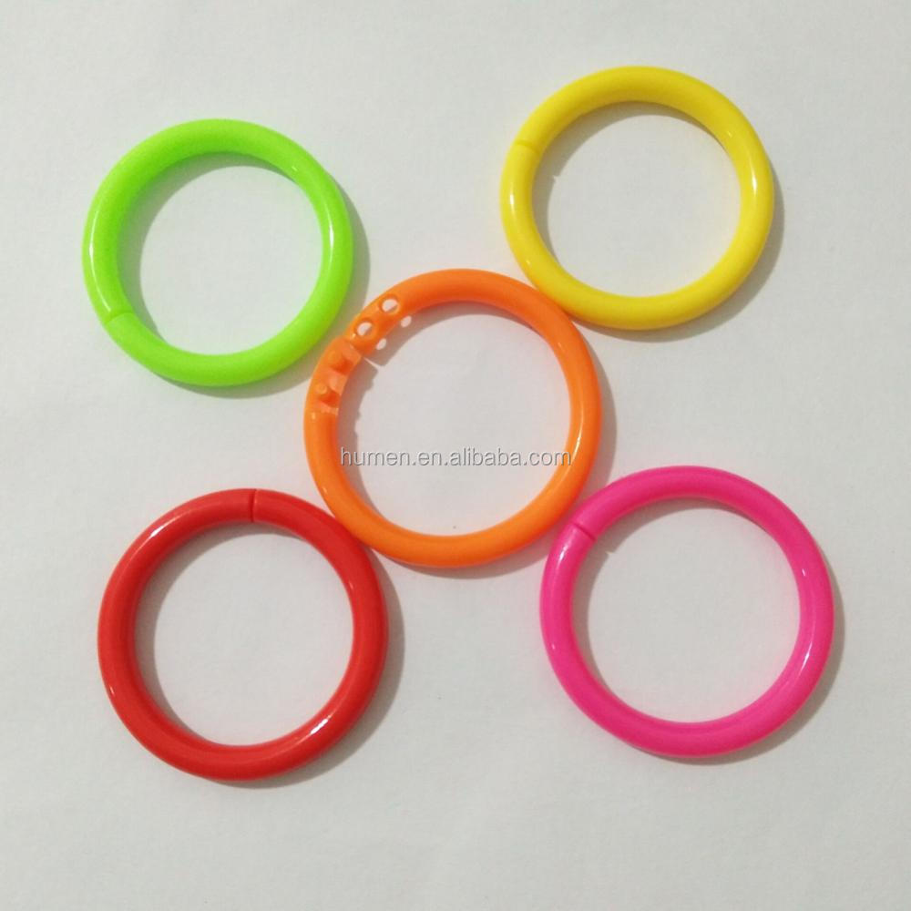 listing clip on plastic il kztv colorful rings ring earrings vintage fullxfull