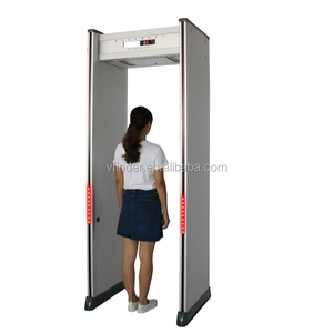 Security arch door frame walkthrough metal detector