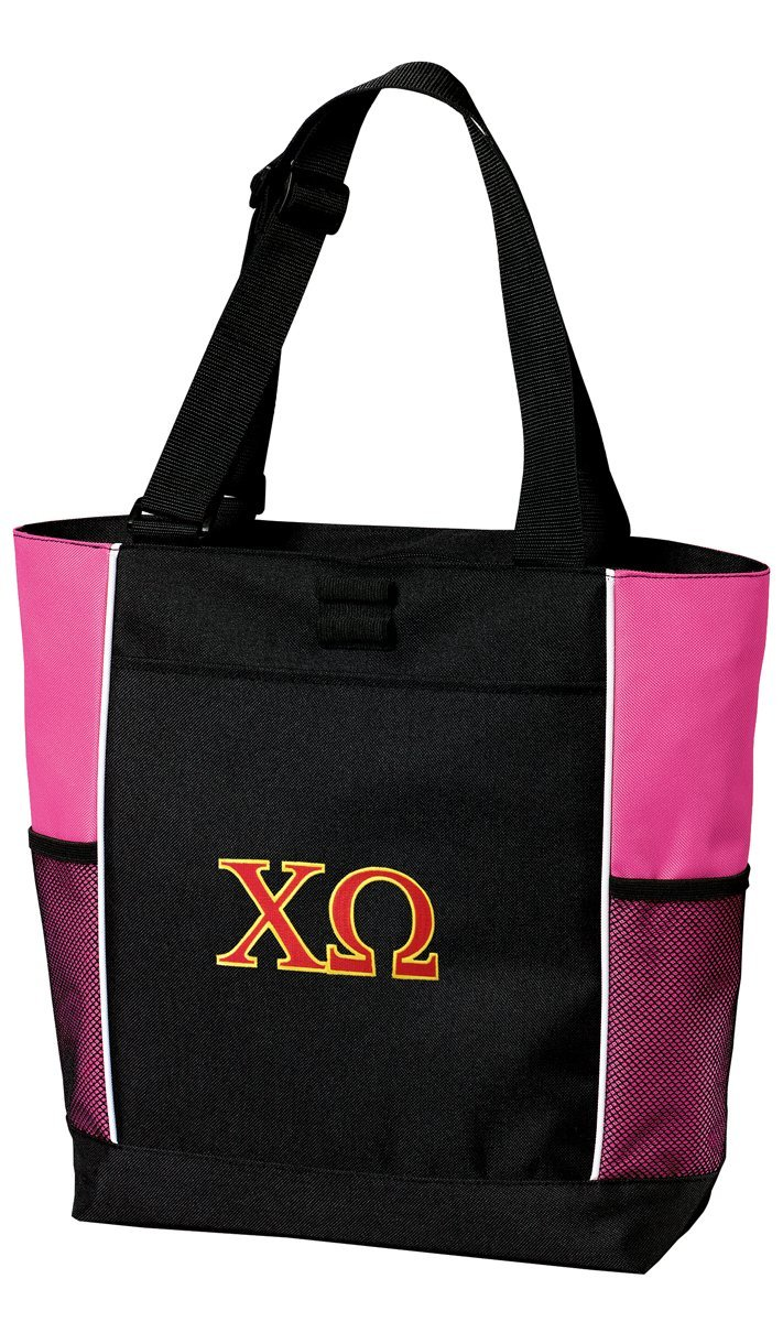 Chi O Tote Bag Ladies Chi Omega Totes