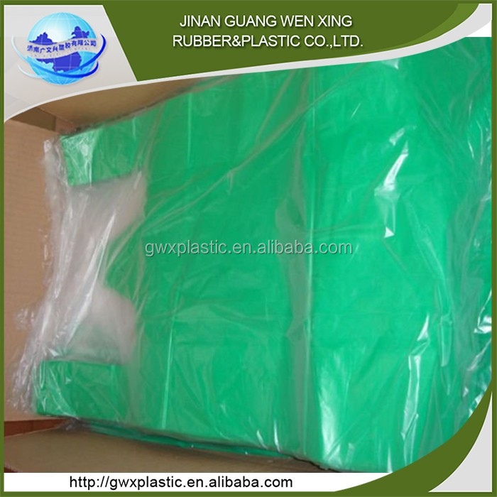 Recycled vegetable plastic hdpe plastic t-shirt bags factory