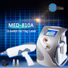 Med-810A hot sell machine face and body tattoo removal laser q switched nd yag