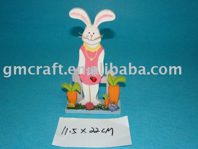 wooden easter decoration,wooden easter craft