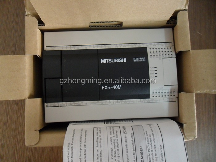 New and Original For Mitsubishi MELSEC PLC Controller FX3G-40MR/ES-A Mitsubishi FX3G Plc programming with good packaging