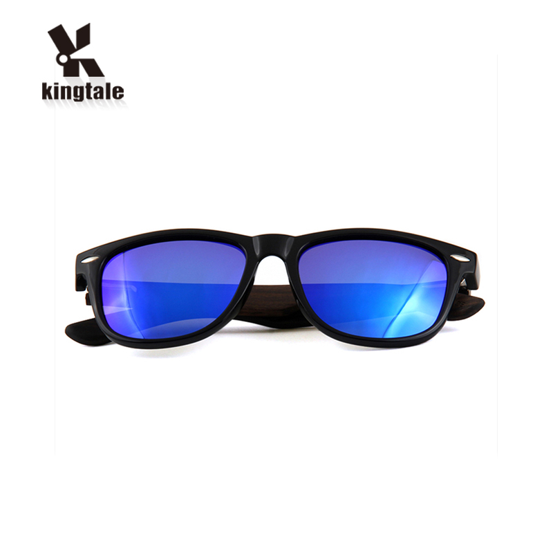 Kingtale High- definition Visual plastic fashion pc wood sunglass for outdoor traveling
