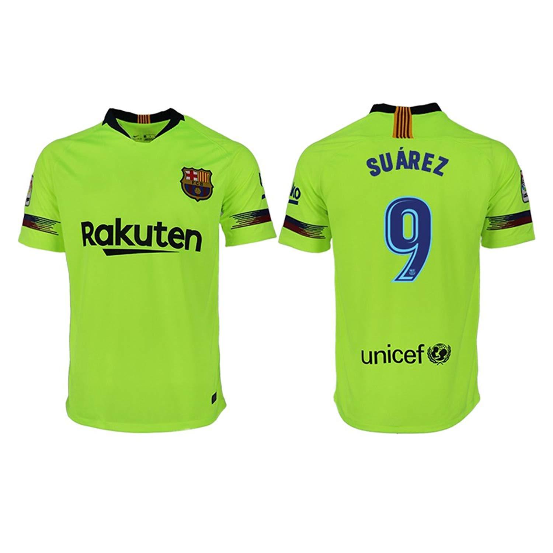 549f4ff66de Get Quotations · LINjsy 2018 19 Barcelona Suarez  9 Home Men s Soccer Jersey  Size XL