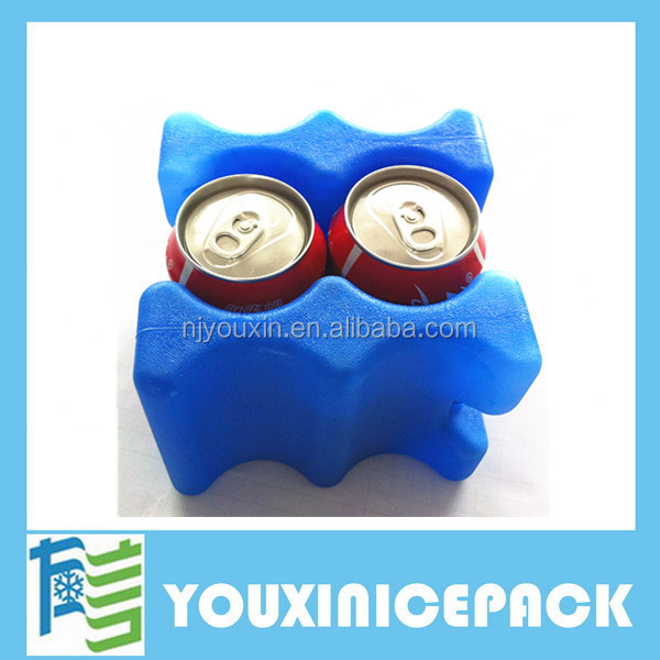 Small gel Cooling Elements Carrier Ice Cooler Box