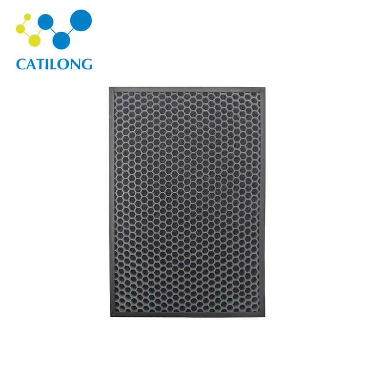 Custom panel luchtfilter honingraat activated carbon luchtfilter 4 5 6 inch air carbon filter