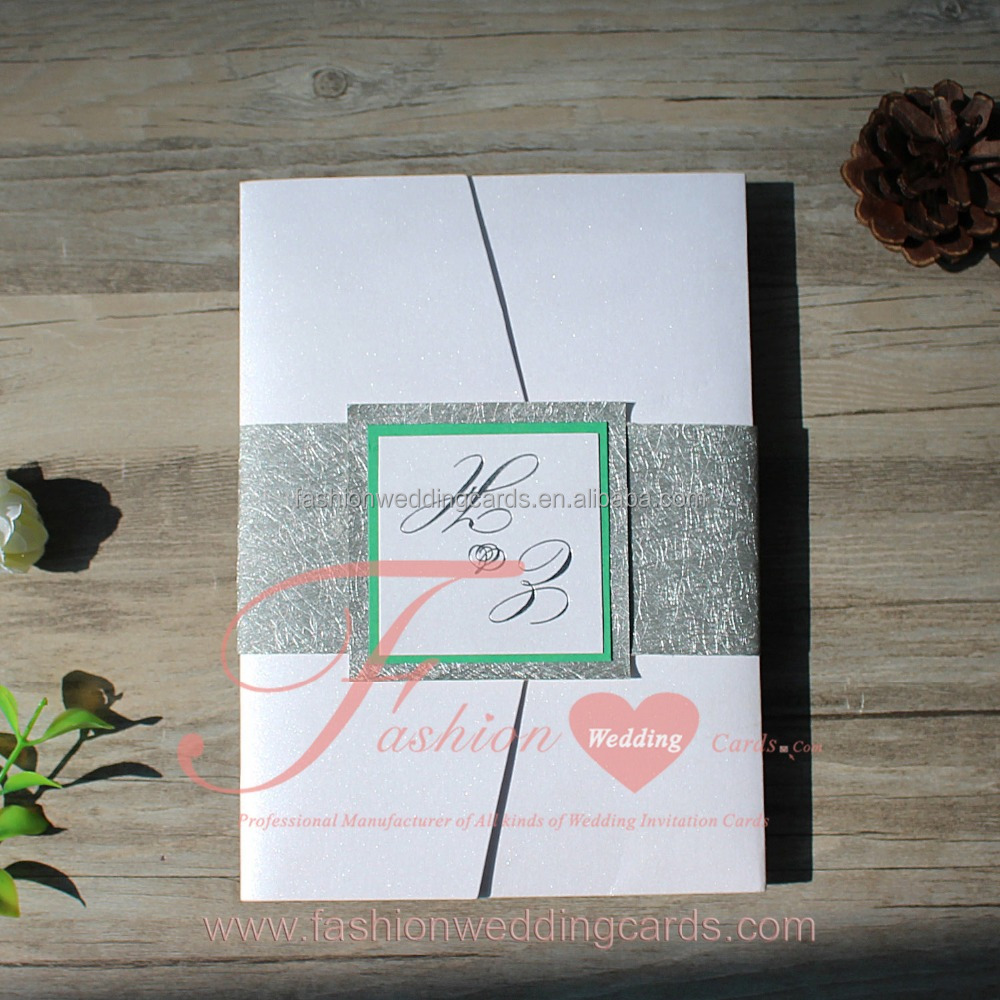 Pocket Folder Trifold Indian Style Wedding Invitation Card - Buy ...