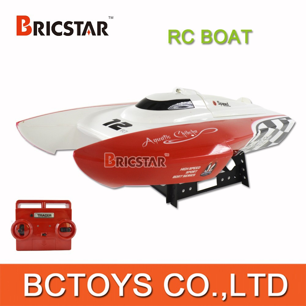 2015 New 40Mhz 3CH brushless rc boat, rc bait boat for fishing with light