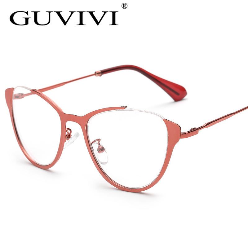 2016 mujeres vidrios ópticos del ojo de gato marco puede hacer ...