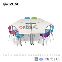orizeal school furniture versatile table great for individual or for working in groups of two or more