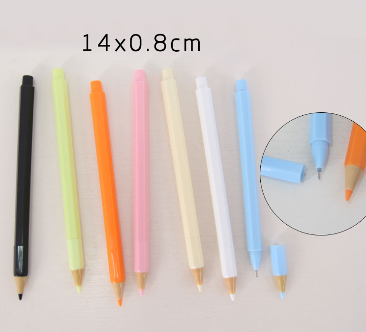 12Pcs Colors Wooden Pencils Pen Drawing For Kids Student Sketching Gift Set J/&C