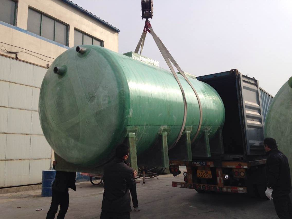 china fiber reinforced plastic frp crude oil storage pressure tank factory