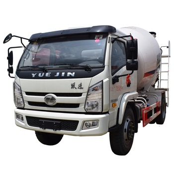 YUEJIN 3 Cubic Meters Mini Concrete Mixer Trucks for Sale