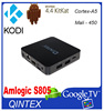 2016New product Q05 Amlogic S805 Quad-Core 1080p android hd mi media player hd live tv box for sport item
