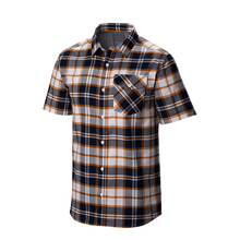 Plaids heren flanellen shirts casual golf shirts custom 2018