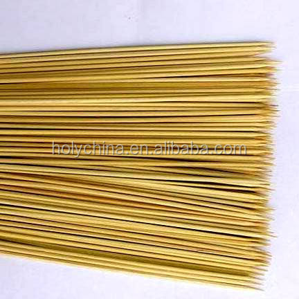 hot sale high quality bamboo skewer with custom logo