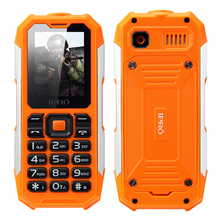"IPRO Shark 2.0"" TFT 176*220 2G Three proofing feature phone us cellular with 2500mAh battery"