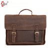 New design laptop mens messenger bag leather briefcase