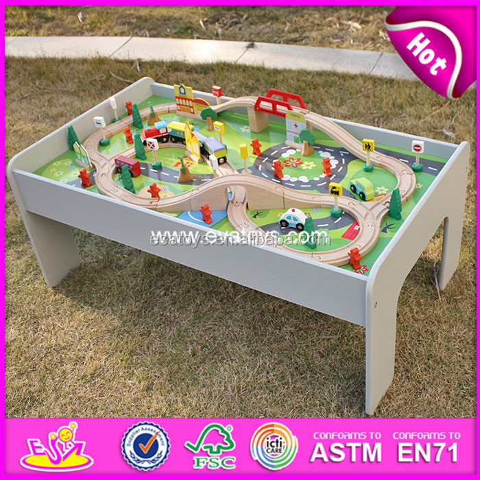 Wooden Toy Train Tracks With Good Price & Good Quantity,classic kid wooden train track,wooden track train toy W04C030
