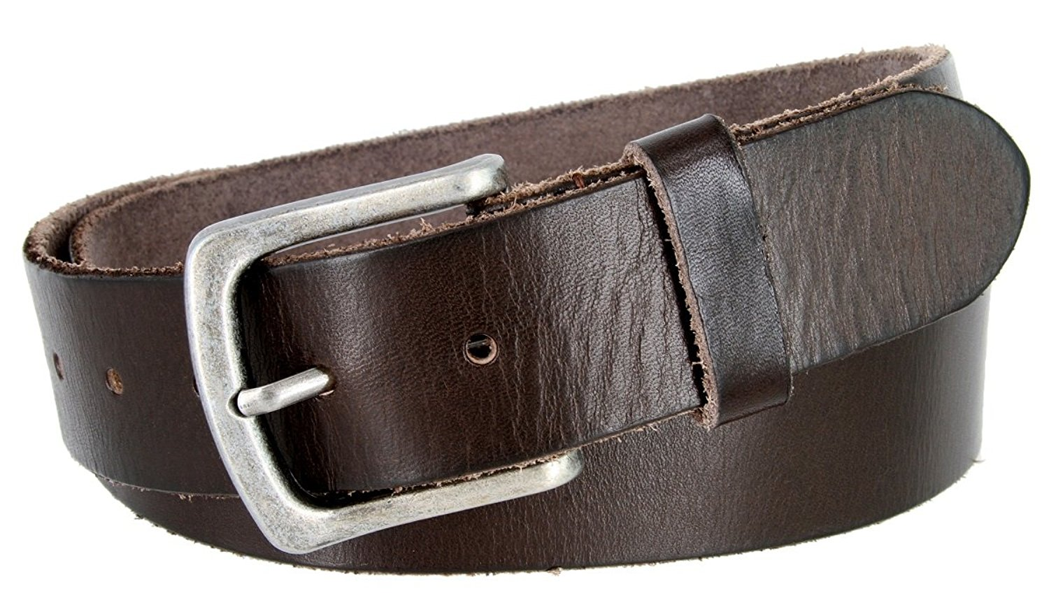 Full Grain Classic Oil-tanned Genuine Leather Casual Jean Belt for Women