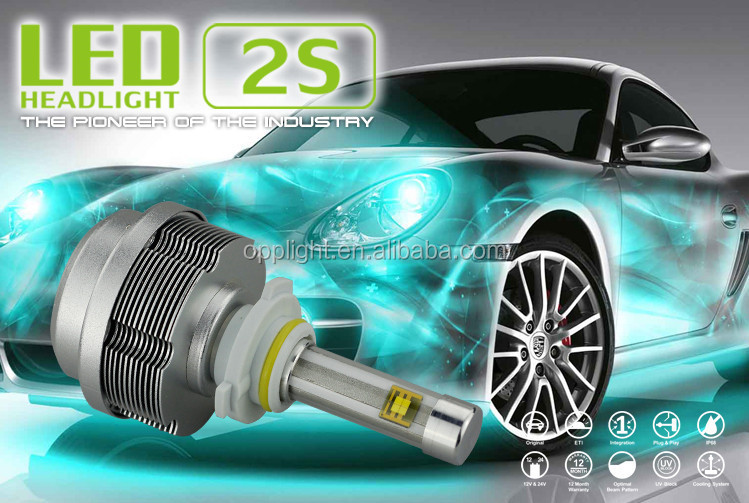3 light cob led headlight 3600lmauto led headlight 9005 dc 12v-24v hyundai sonata headlight