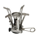 Portable Outdoor Camping Picnic Foldable Gas Stove Mini Ultra light Steel Stove Case
