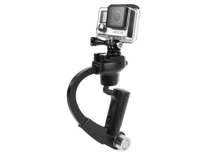 F11363 Bow Design Quick Release Video Stabilizer Stick Balancer Selfie Monopod