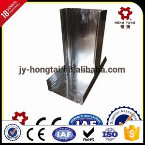 metal furring channel/steel stud profile/ galvanized building material