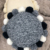 Round Knitted Cushion Cover with Pompom