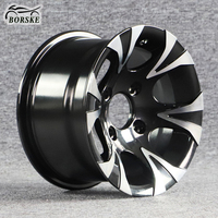 High quality aluminum alloy wheels auto parts accessories mag wheels by deep dish chrome wheels