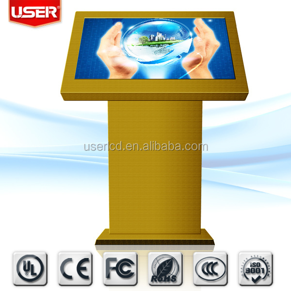 42inch indoor kiosk industrial lcd touch monitor all in one PC