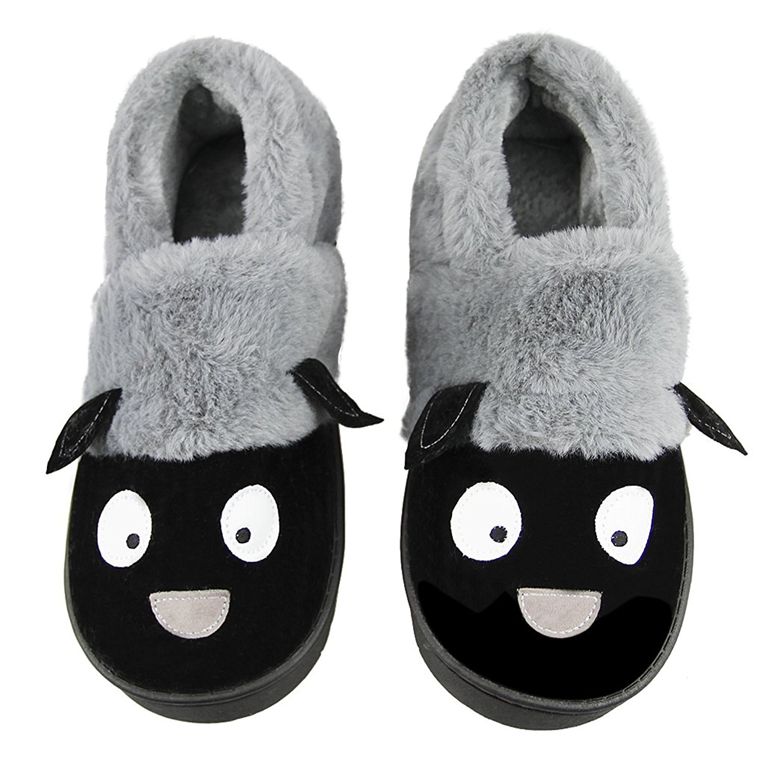 90b4180eadb2 Get Quotations · Unisex Winter Indoor Slip-on Slippers