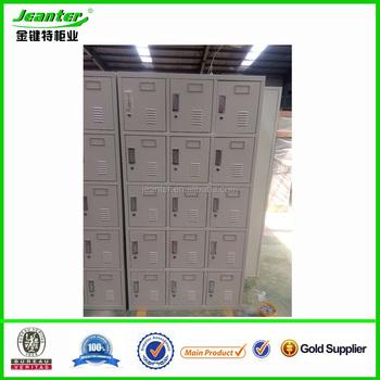 15 doors utility locker horizontal lockers metallic cheap storage bins locker
