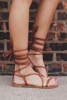 New Strappy Flat Sandals Bohemian Sandals