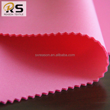 Shaoxing manufacture polyester scuba knit fabric air layer fabric for garment