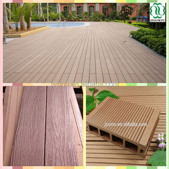 Teak Wood Floor Tile Wpc Decking Recycled Rubber Patio