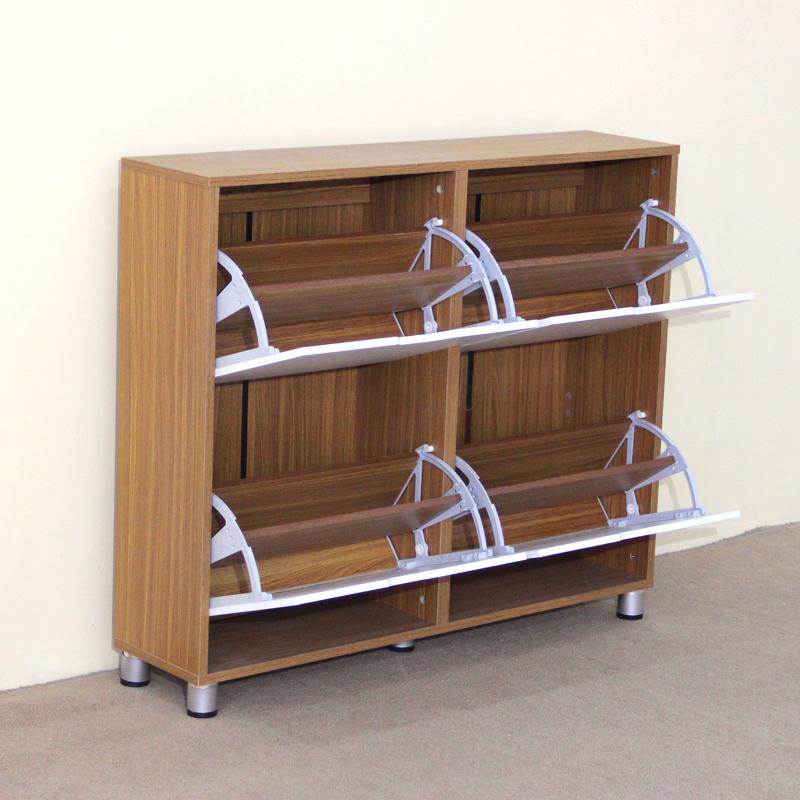 Modern Wooden Shoe Rack Cabinet