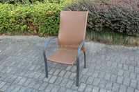 outdoor garden high back dining rattan chair