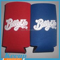 Wholesale Cheap Imprinted Gifts T-shirt Neoprene Beer Cover Bottle Sleeve Holder