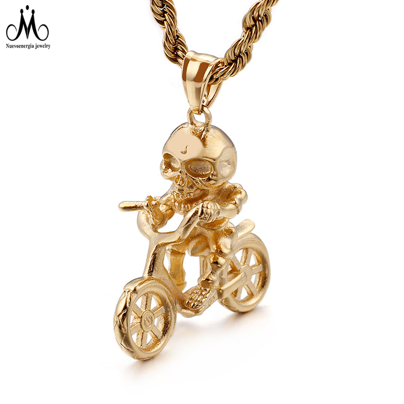 High Polish Golden Saint Corss Pendant 316l Stainless Steel Jewelry