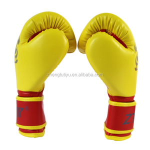 new design OEM/ODM synthetic leather training boxing gloves