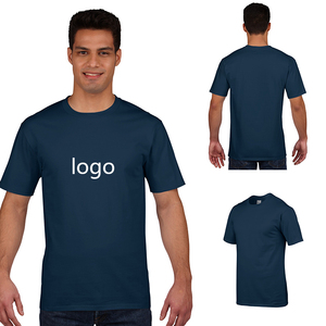 Printing 95% cotton 5% elastane organic cotton no minimum printed design custom t-shirt